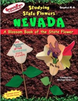 Studying State Flowers—NEVADA: A Blossom Book of the State Flower