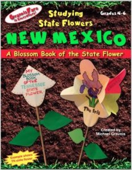 Studying State Flowers—NEW MEXICO: A Blossom Book of the State Flower
