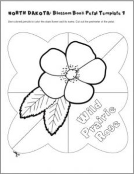 Studying State Flowers—NORTH DAKOTA: A Blossom Book of the State Flower