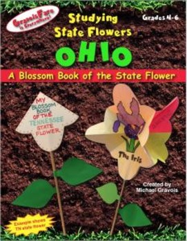 Studying State Flowers—OHIO: A Blossom Book of the State Flower