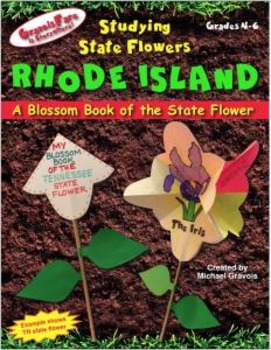 Studying State Flowers—RHODE ISLAND: A Blossom Book of the State Flower