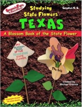 Studying State Flowers—TEXAS: A Blossom Book of the State Flower