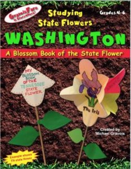 Studying State Flowers—WASHINGTON: A Blossom Book of the State Flower