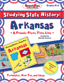 Studying State History: ARKANSAS-- A Puzzle-Piece Time Line by GravoisFare