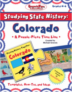 Studying State History: COLORADO-- A Puzzle-Piece Time Line by GravoisFare