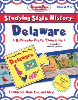 Studying State History: DELAWARE-- A Puzzle-Piece Time Lin