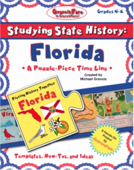 Studying State History: FLORIDA-- A Puzzle-Piece Time Line by GravoisFare