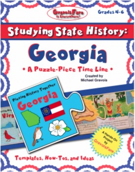 Studying State History: GEORGIA-- A Puzzle-Piece Time Line