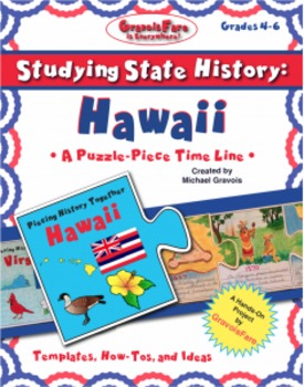 Studying State History: HAWAII-- A Puzzle-Piece Time Line by GravoisFare