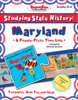 Studying State History: MARYLAND-- A Puzzle-Piece Time Lin