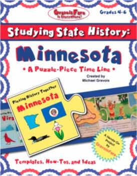 Studying State History: MINNESOTA-- A Puzzle-Piece Time Li