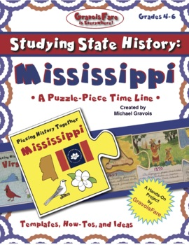 Studying State History: MISSISSIPPI-- A Puzzle-Piece Time