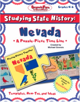 Studying State History: NEVADA-- A Puzzle-Piece Time Line by GravoisFare