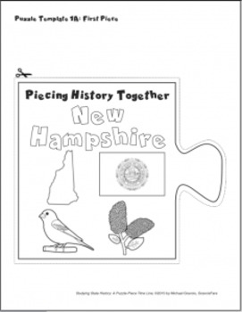 Studying State History: NEW HAMPSHIRE-- A Puzzle-Piece Time Line by GravoisFare
