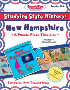 Studying State History: NEW HAMPSHIRE-- A Puzzle-Piece Tim