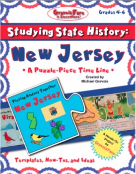 Studying State History: NEW JERSEY-- A Puzzle-Piece Time L