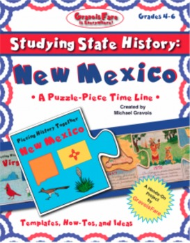 Studying State History: NEW MEXICO-- A Puzzle-Piece Time Line by GravoisFare
