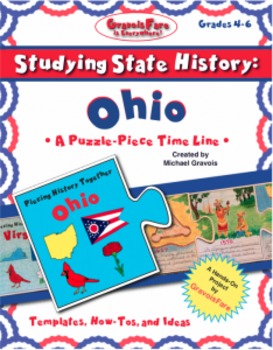 Studying State History: OHIO -- A Puzzle-Piece Time Line by GravoisFare