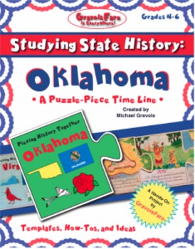 Studying State History: OKLAHOMA -- A Puzzle-Piece Time Li