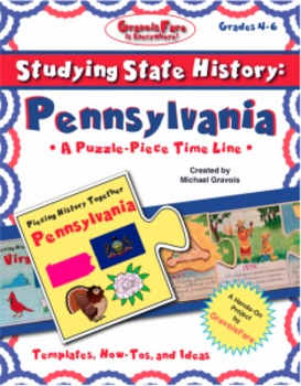 Studying State History: PENNSYLVANIA -- A Puzzle-Piece Tim