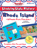 Studying State History: RHODE ISLAND -- A Puzzle-Piece Time Line by GravoisFare