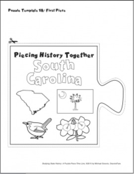 Studying State History: SOUTH CAROLINA --A Puzzle-Piece Time Line by GravoisFare