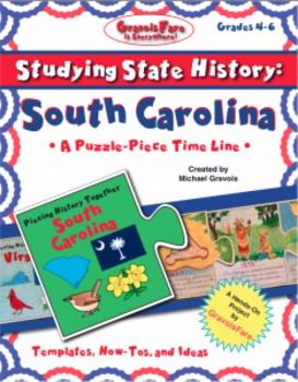 Studying State History: SOUTH CAROLINA --A Puzzle-Piece Ti