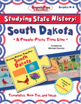 Studying State History: SOUTH DAKOTA -- A Puzzle-Piece Tim