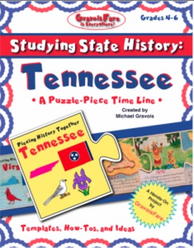 Studying State History: TENNESSEE -- A Puzzle-Piece Time Line by GravoisFare