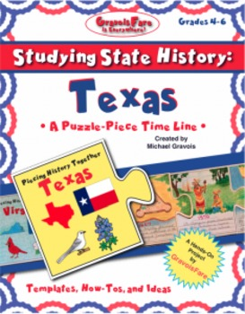 Studying State History: TEXAS -- A Puzzle-Piece Time Line