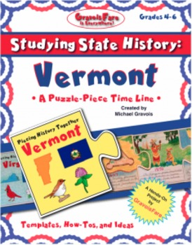 Studying State History: VERMONT -- A Puzzle-Piece Time Lin
