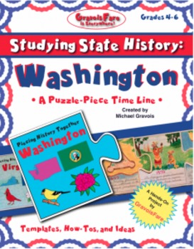 Studying State History: WASHINGTON -- A Puzzle-Piece Time Line by GravoisFare