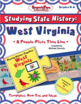 Studying State History: WEST VIRGINIA -- A Puzzle-Piece Time Line by GravoisFare