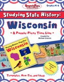 Studying State History: WISCONSIN-- A Puzzle-Piece Time Line by GravoisFare