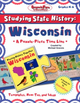 Studying State History: WISCONSIN-- A Puzzle-Piece Time Li