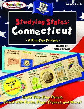 Studying States: Connecticut—A Flip-Flap Foldable Filled w