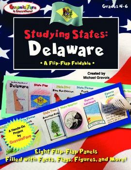 Studying States: Delaware—A Flip-Flap Foldable Filled with