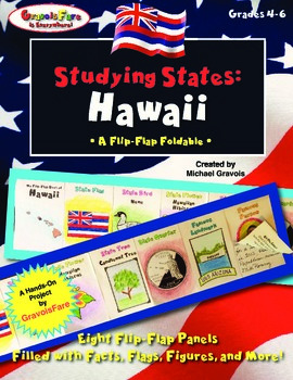 Studying States: Hawaii—A Flip-Flap Foldable Filled with F