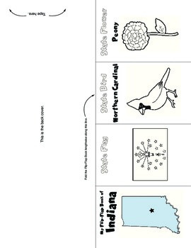 Studying States: Indiana—A Flip-Flap Foldable Filled with Facts, Flags, & More!