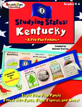 Studying States: Kentucky—A Flip-Flap Foldable Filled with