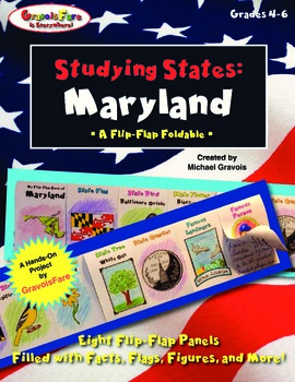 Studying States: Maryland—A Flip-Flap Foldable Filled with