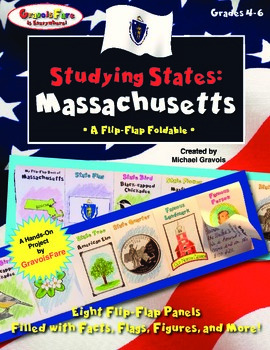 Studying States: Massachusetts—A Flip-Flap Foldable Filled with Facts!