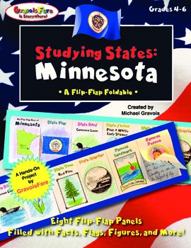Studying States: Minnesota—A Flip-Flap Foldable Filled with Facts!