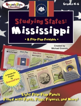 Studying States: Mississippi—A Flip-Flap Foldable Filled with Facts!