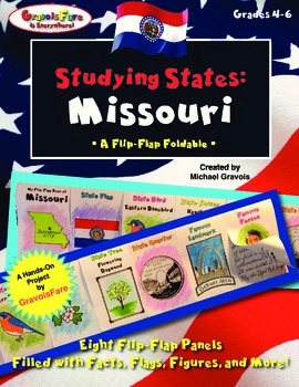 Studying States: Missouri—A Flip-Flap Foldable Filled with Facts, Flags, & More!