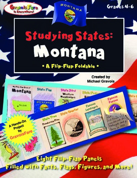 Studying States: Montana—A Flip-Flap Foldable Filled with