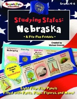 Studying States: Nebraska—A Flip-Flap Foldable Filled with
