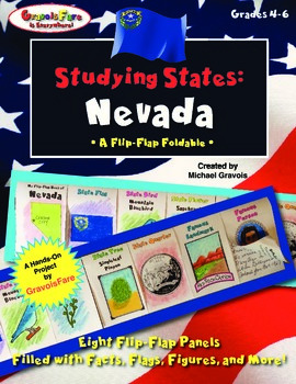 Studying States: Nevada—A Flip-Flap Foldable Filled with Facts, Flags, & More!