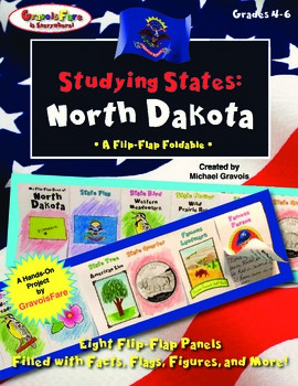 Studying States: North Dakota—A Flip-Flap Foldable Filled with Facts!