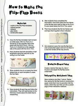Studying States: Oregon—A Flip-Flap Foldable Filled with Facts, Flags, & More!